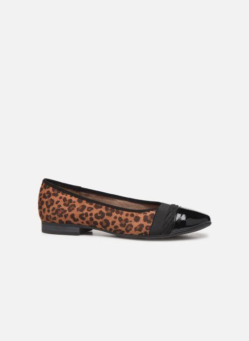 Ballerina's Jana shoes CAMILLE NEW Bruin achterkant