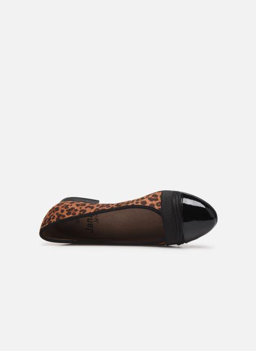 Ballerines Jana shoes CAMILLE NEW Marron vue gauche