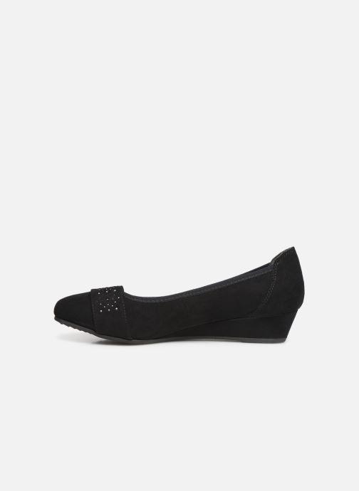 Ballerines Jana shoes PALI NEW Noir vue face