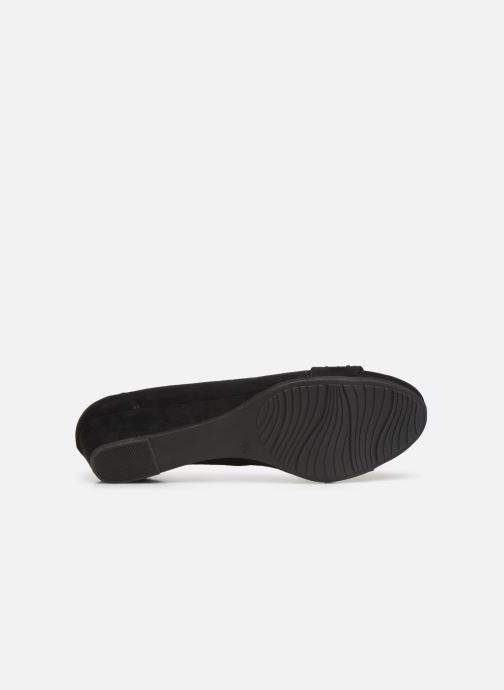 Ballerines Jana shoes PALI NEW Noir vue haut