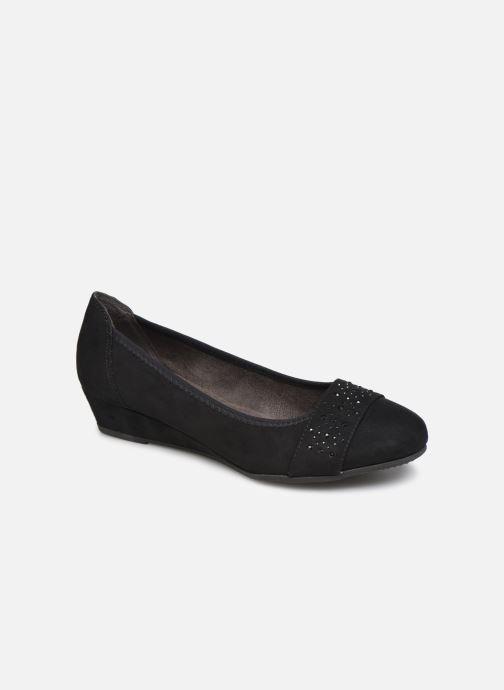 Ballerines Jana shoes PALI NEW Noir vue détail/paire