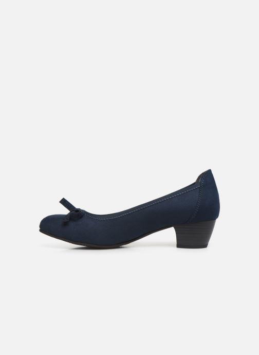Escarpins Jana shoes SOSOBE NEW Bleu vue face