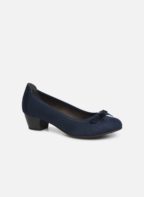 Escarpins Jana shoes SOSOBE NEW Bleu vue détail/paire