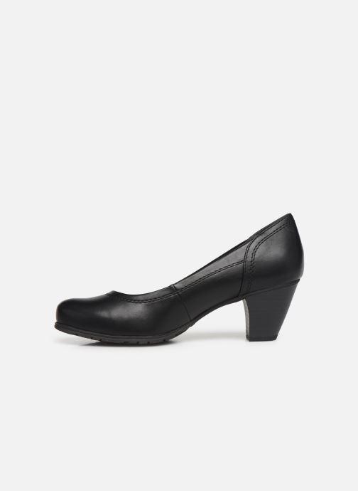 Escarpins Jana shoes LANDER NEW Noir vue face