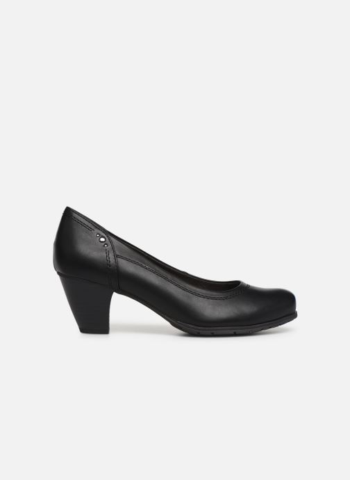 Pumps Jana shoes LANDER NEW Zwart achterkant