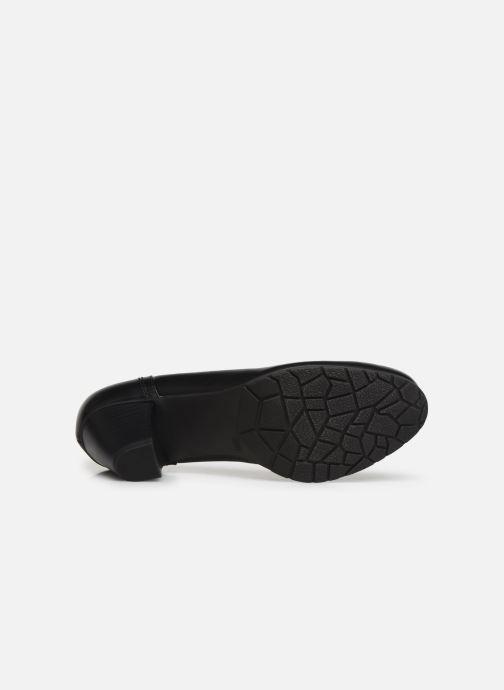 Zapatos de tacón Jana shoes LANDER NEW Negro vista de arriba