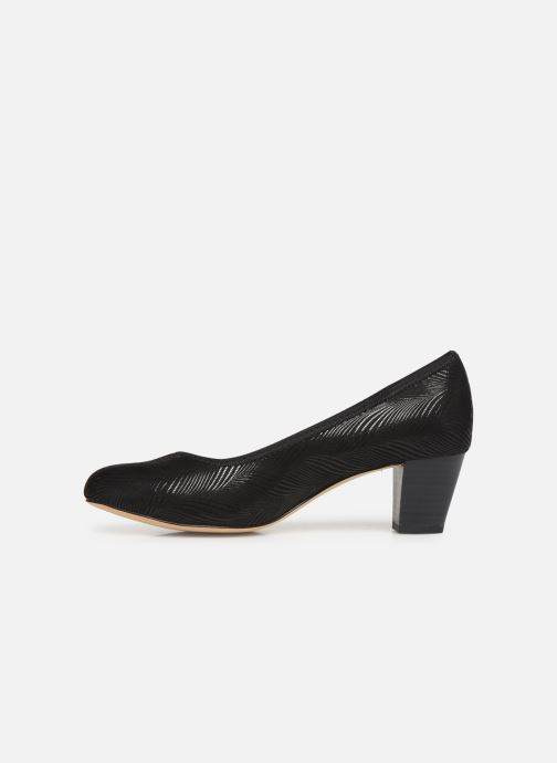 Pumps Jana shoes DETAIL Zwart voorkant