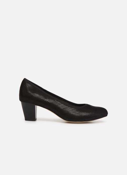Pumps Jana shoes DETAIL Zwart achterkant