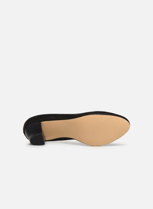 Escarpins Jana shoes DETAIL Noir vue haut