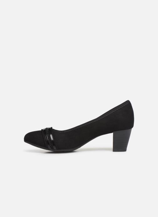 Pumps Jana shoes MAYA NEW schwarz ansicht von vorne