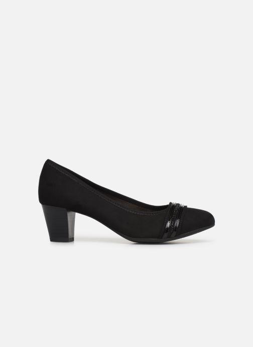 Pumps Jana shoes MAYA NEW Zwart achterkant