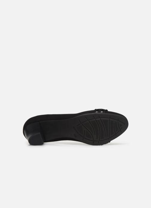 Zapatos de tacón Jana shoes MAYA NEW Negro vista de arriba