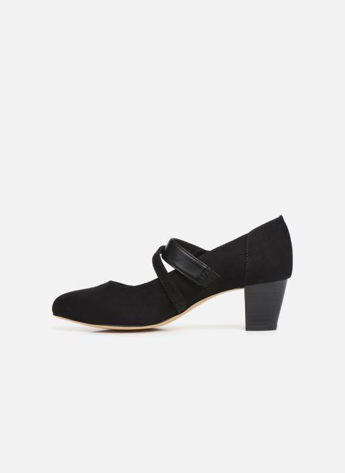 Zapatos de tacón Jana shoes HELENE Negro vista de frente