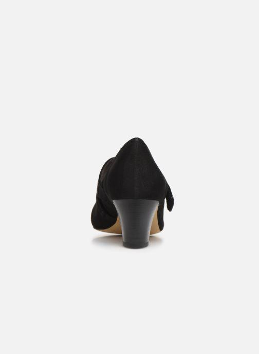 Zapatos de tacón Jana shoes HELENE Negro vista lateral derecha