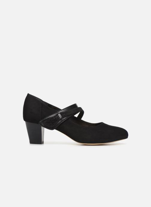 Pumps Jana shoes HELENE Zwart achterkant