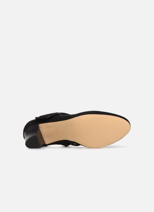 Zapatos de tacón Jana shoes HELENE Negro vista de arriba