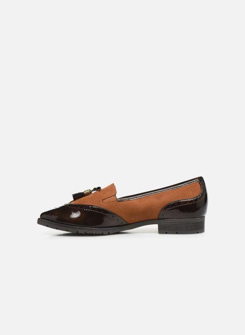 Mocassini Jana shoes MOUNIA NEW Marrone immagine frontale