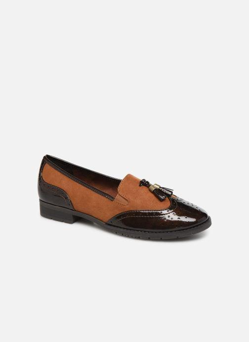 Mocassins Jana shoes MOUNIA NEW Bruin detail