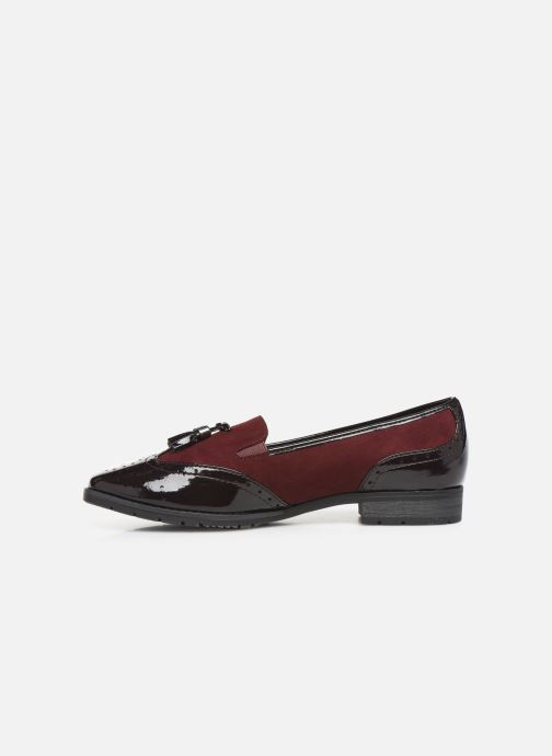 Mocassins Jana shoes MOUNIA NEW Bordeaux vue face