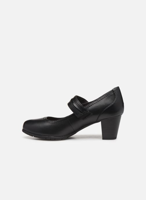 Escarpins Jana shoes EVE Noir vue face