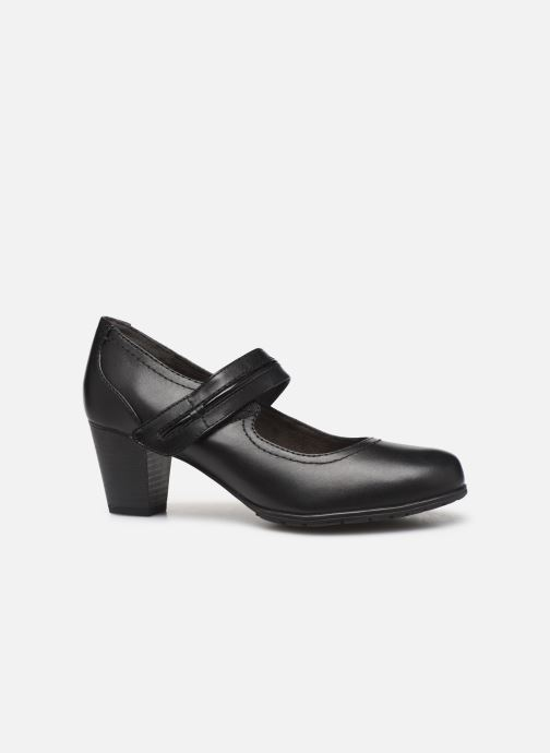 Pumps Jana shoes EVE Zwart achterkant