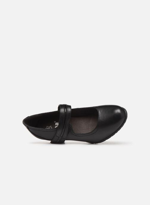 Escarpins Jana shoes EVE Noir vue gauche