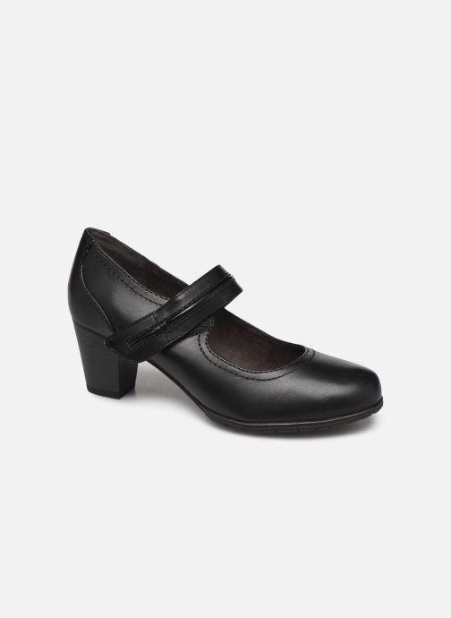 Pumps Jana shoes EVE Zwart detail