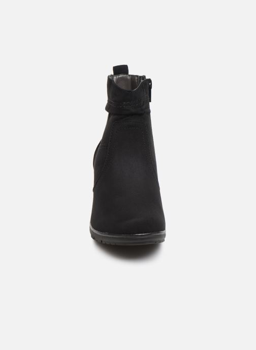 Ankle boots Jana shoes FUTURO NEW Black model view