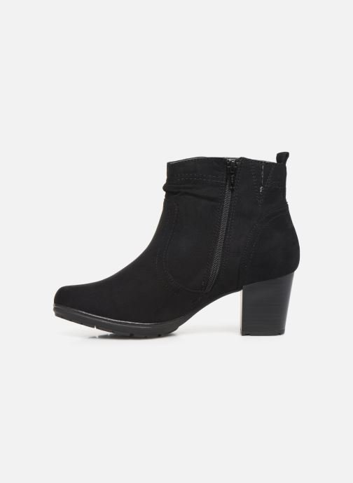 Ankle boots Jana shoes FUTURO NEW Black front view