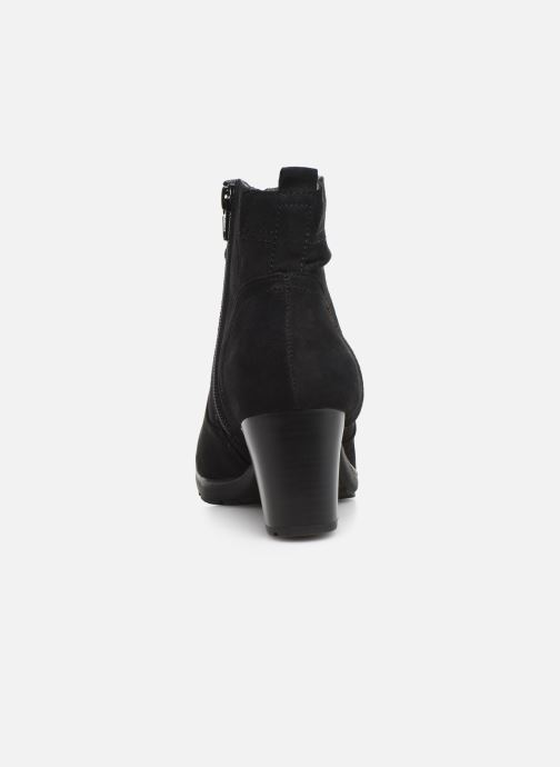 Ankle boots Jana shoes FUTURO NEW Black view from the right