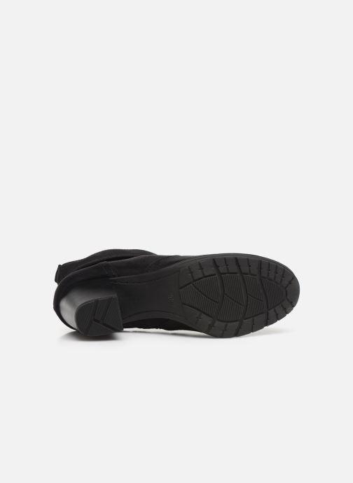 Bottines et boots Jana shoes FUTURO NEW Noir vue haut