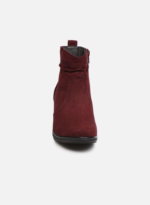 Botines  Jana shoes FUTURO NEW Vino vista del modelo