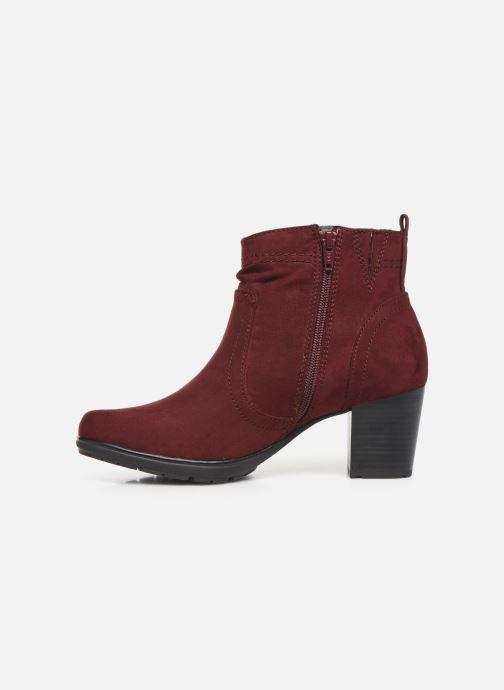 Botines  Jana shoes FUTURO NEW Vino vista de frente
