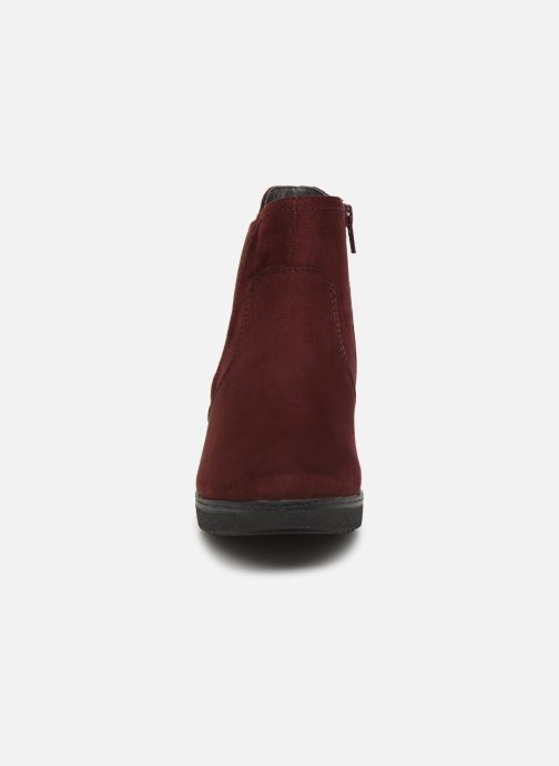 Ankle boots Jana shoes GAVIN NEW Burgundy model view