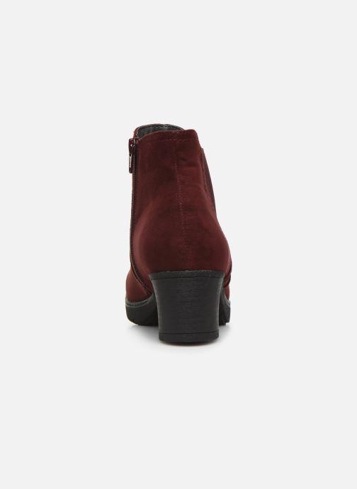 Botines  Jana shoes GAVIN NEW Vino vista lateral derecha