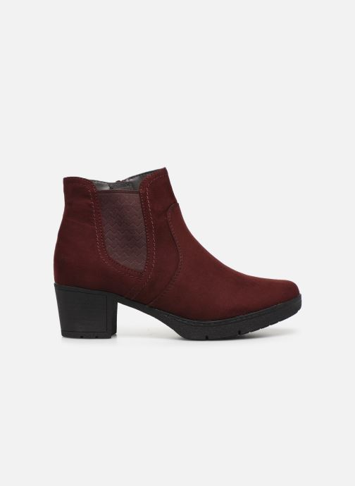 Ankle boots Jana shoes GAVIN NEW Burgundy back view