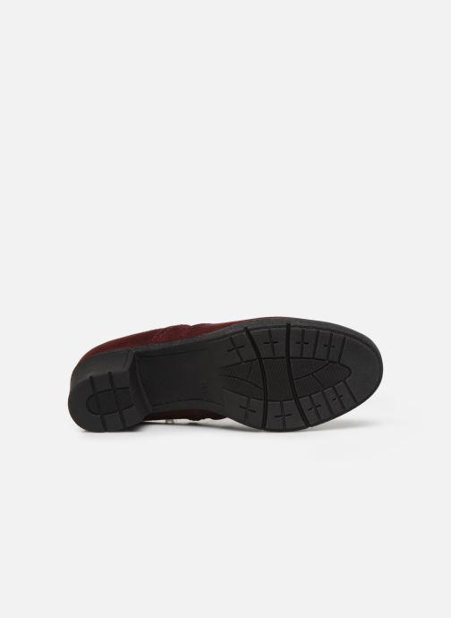 Botines  Jana shoes GAVIN NEW Vino vista de arriba