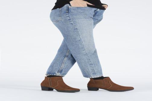 Bottines et boots Jana shoes GAVIN NEW Gris vue bas / vue portée sac