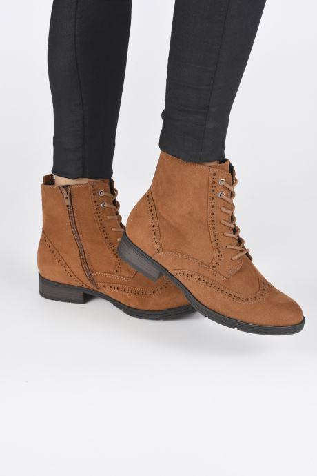 Bottines et boots Jana shoes IVY Marron vue bas / vue portée sac