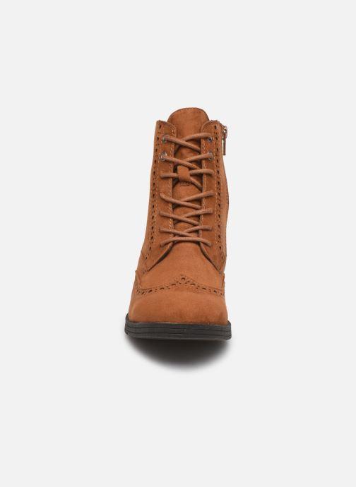 Bottines et boots Jana shoes IVY Marron vue portées chaussures