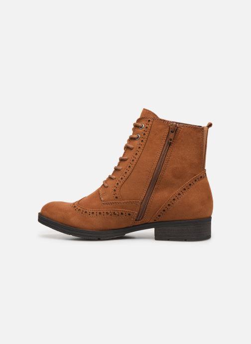 Ankelstøvler Jana shoes IVY Brun se forfra