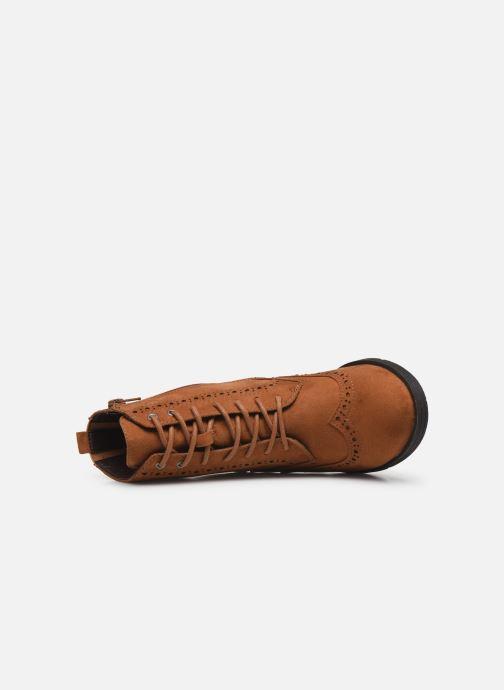 Ankelstøvler Jana shoes IVY Brun se fra venstre