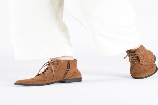 Bottines et boots Jana shoes IVY Beige vue bas / vue portée sac