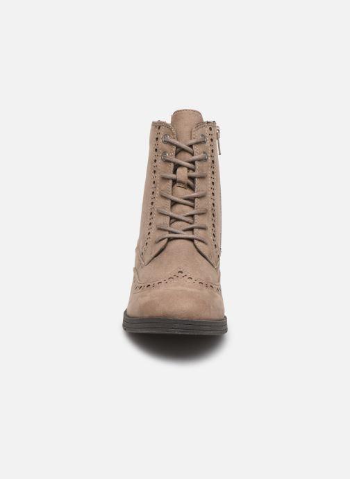 Bottines et boots Jana shoes IVY Beige vue portées chaussures