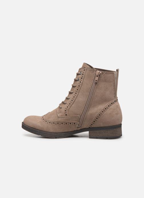 Bottines et boots Jana shoes IVY Beige vue face
