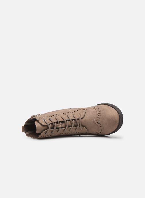 Bottines et boots Jana shoes IVY Beige vue gauche