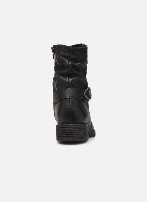 Bottines et boots Jana shoes ALBI Noir vue droite