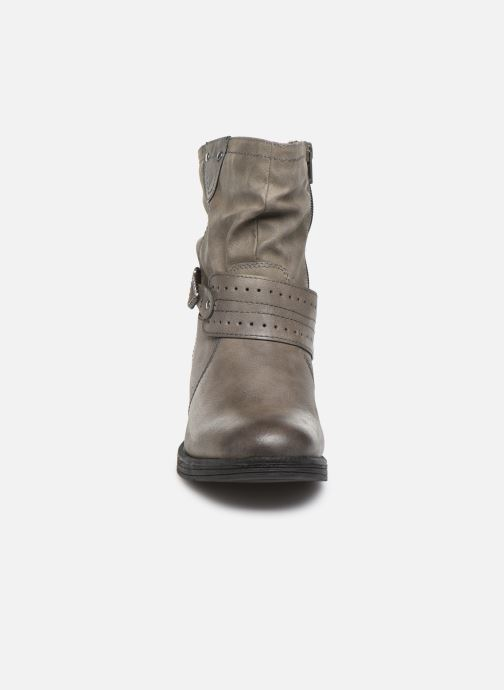 Stivaletti e tronchetti Jana shoes ALBI Grigio modello indossato