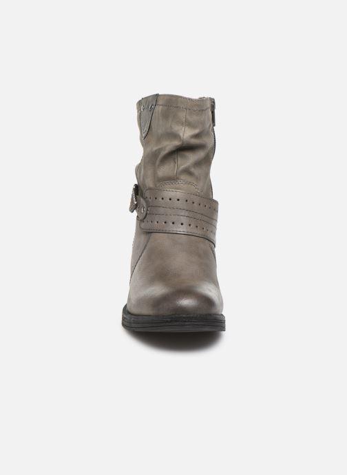 Botines  Jana shoes ALBI Gris vista del modelo