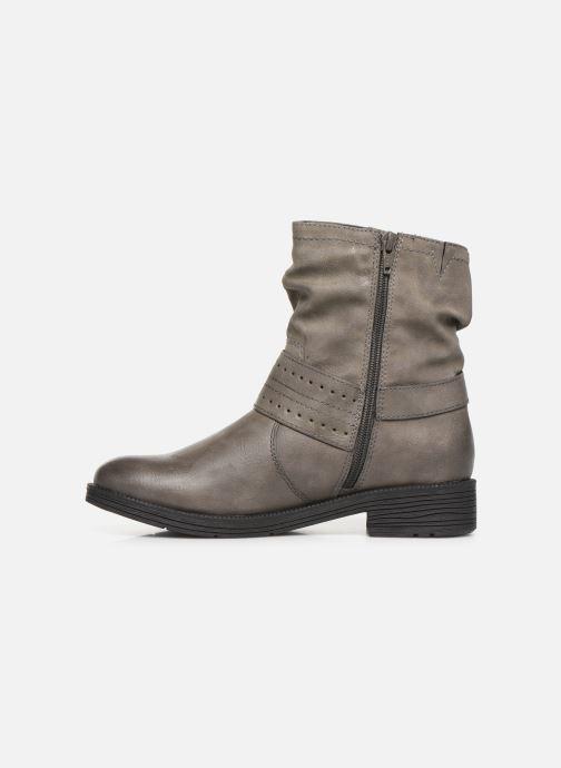 Bottines et boots Jana shoes ALBI Gris vue face